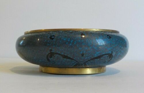 Chinese CLOISONNE Enamel on Bronze Bowl, Qinglong Period, Marked Inside