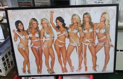 Party Girls Poster Vintage Playboy Model Hot Sexy Rare Mid 2000S