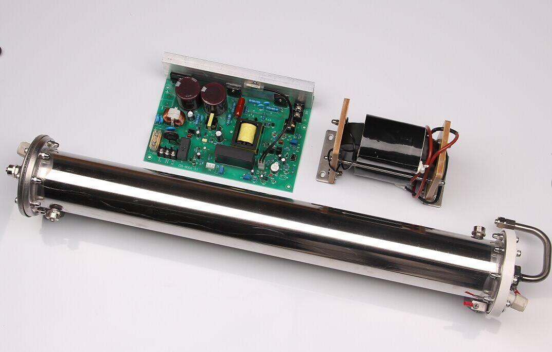 Enamel Ozone Generator Tube Adjust 80g/h Double Water Cooling New b