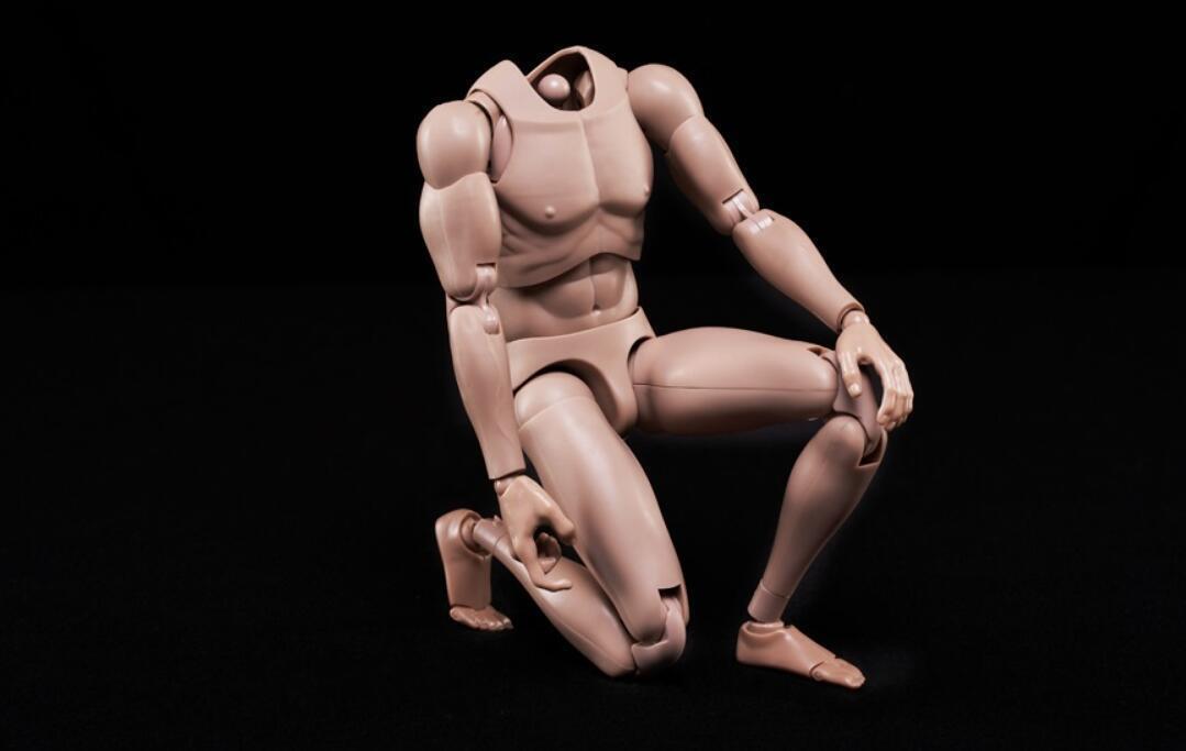 NEW Custom 1//6 hot toys Nude Caucasian Body Narrow Shoulder as TTM18 TTM21 ❶USA❶