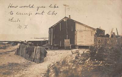 "MILFORD, CT, ""THE HERMITAGE"" A HOME AT THE BEACH, REAL PHOTO PC used 1906"