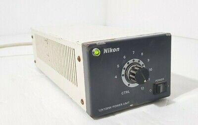 Nikon Psm 2120 12v 100w 220v 12v100w Power Source Supply For Diaphot Microscope
