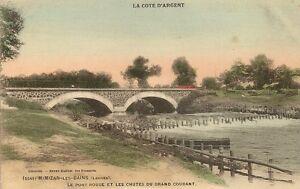 Carte Postale Mimizan LES Bains LE Pont Rouge ET LES Chutes DU ...