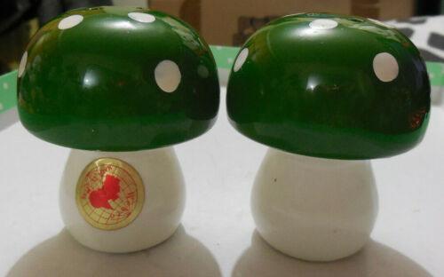 Vintage Salt & Pepper Shakers -  Mushroom - Japan