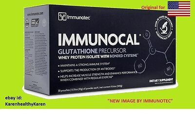 Immunocal 30 Pk  Natural Source Of Glutathione   New Image