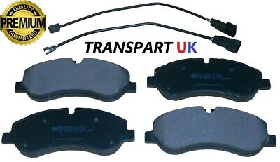 FORD TRANSIT CUSTOM 2012 ONWARDS FRONT BRAKE PADS SET FUL KIT AS REF 1916326