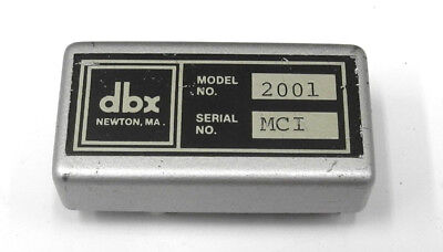 Used dbx 2001 Silver Can Class A VCA Module for dbx cards SSL MCI Sony, Etc. DP