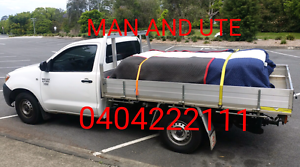 MAN AND a ute For pickups /Deliveries Bundall Gold Coast City Preview