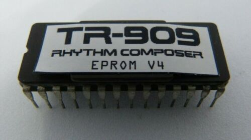 Roland TR-909 MITSUBISHI EPROM V4.0 latest firmware upgrade