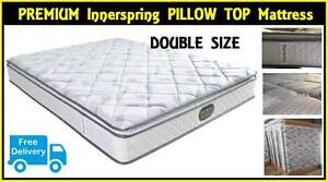 DOUBLE Size PREMIUM Pillow Top Mattress BRAND NEW. FREE DELIVERY New Farm Brisbane North East Preview
