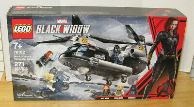 Lego Marvel Super Heroes Set #76162 Black Widow's Helicopter Chase NIP VHTF