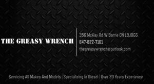 Mechanic Automotive Repair Shop