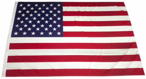 4x6 Ft American Flag USA Stars Stripes US with Grommet - 100D Polyester FABRIC