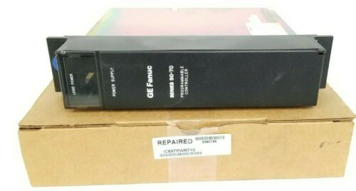 REPAIRED GE FANUC IC697PWR710B PROGRAMMABLE CONTROLLER IC697PWR710