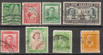 Stamp New Zealand British Lot Collection Used