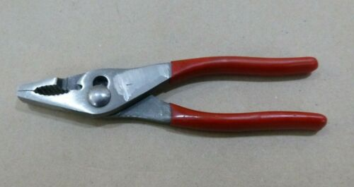 """Vintage USGI Military Blue-Point CHN 546 slip joint pliers 6-3/4"""" w Wire Cutter"""