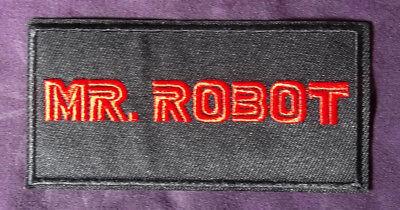 MR .ROBOT PATCH RAMI MALEK CHRISTIAN SLATER CARLY CHAIKIN USA NETWORK F SOCIETY