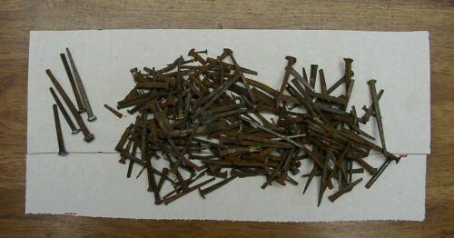 2lbs. Antique Blacksmith Hand Forged Nails,Rose,Raisin Head,Mixed Sizes,L@@K!!