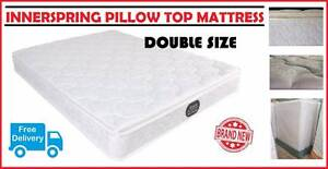 Double Bed Size Pillow Top Mattress BRAND NEW with FREE DELIVERY New Farm Brisbane North East Preview