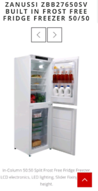 Zanussi ZBB27650SA Brand New In Packaging cost £779 out of stock