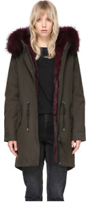 ***Brand New***MACKAGE Rena Fur-Trimmed Parka