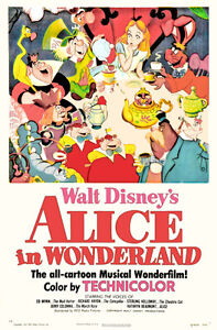 Alice-in-Wonderland-Disney-cartoon-movie-poster-print-37
