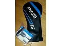 Ping G series driver headcover & wrench