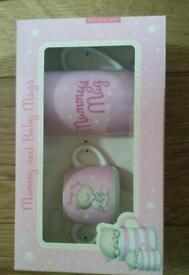 mummy and baby mug