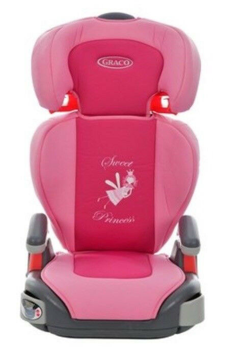 Graco Princess Pink Fairy Car Seat Group 2 3 15 36kg Brand New In
