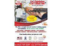 Electrican house landlord rewire sockets certificates estate agents builders