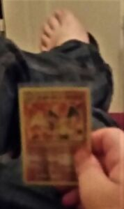 selling a charlizard card old and rare pokemon