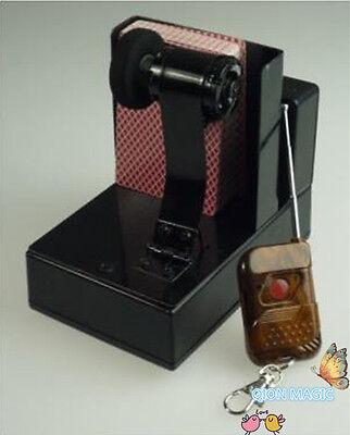 - Professional Remote Control Card Fountain - Card Magic Trick,Stage Magic Props,