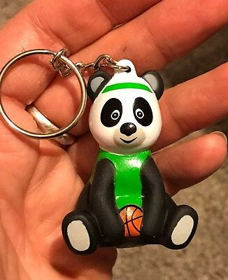 New American Heart Association Panda Basketball Keychain Collectible