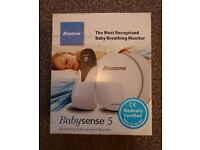 Babysense 5 breathing and movement pad / monitor / sensor