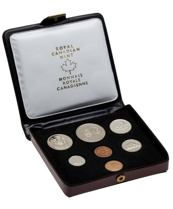 1974 SPECIMEN CANADA DOUBLE PENNY 7 COIN ROYAL MINT UNCIRCULATED SET