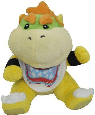 New Super Mario Bros. Koopa Bowser Jr. Plush Toy Figure Soft