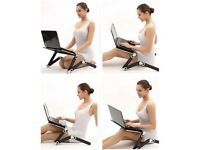 Back posture laptop stand