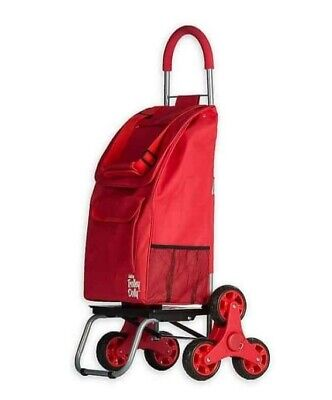 Trolley Dolly Forget-me-not Shopping Grocery Foldable Cart Climbing Wheel