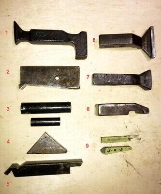 Aircraft Sheetmetal Tools - Lot Of 11 Bucking Bars