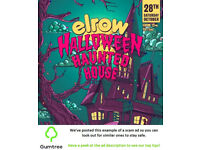 Elrow Halloween Haunted Edinburgh Tickets -- Read the ad description before replying!!