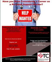 Want to be a PSW