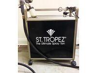 St Tropez professional spray tan machine
