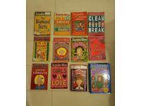 Joblot of 12 Jacqueline Wilson Books