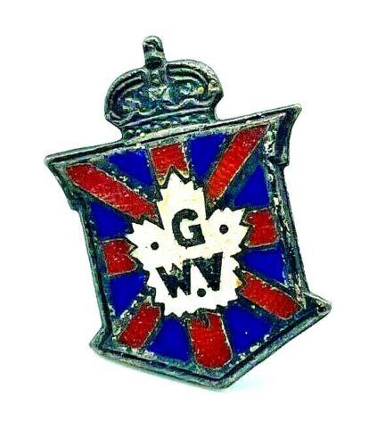 WW1 Great War Veteran Sterling Silver Pin Service Number 131679 MP50