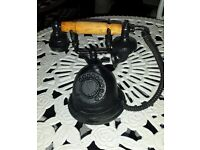 Cast iron ornament telephone tractor stove boot holder lamp post box bench furniture table dog bowls