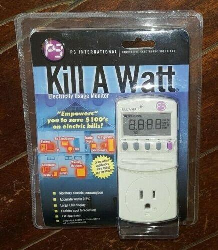 P3 International Kill A Watt Electricity Usage Monitor- Model #P4400