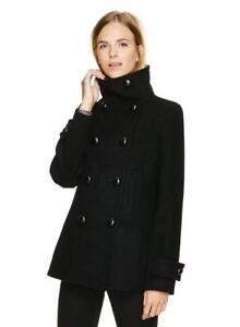 ARITZIA BLACK BABATON HOWELL WOOL COAT SIZE SMALL