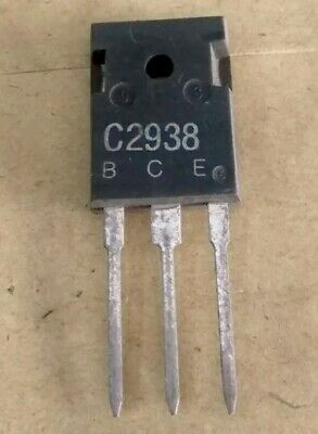 1 Pcs 2sc2938 Npn Power Transistor 100 Watt 10 Amp 400 V Nte2308 Equivalent