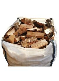 LOGS- Kiln Dried Ash Hardwood - Bulk Bag £80-Crate £160