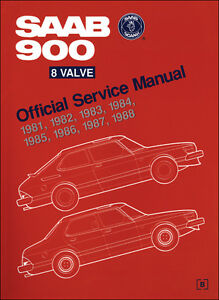 Saab 900 8 Valve Official Service Manual 81-88